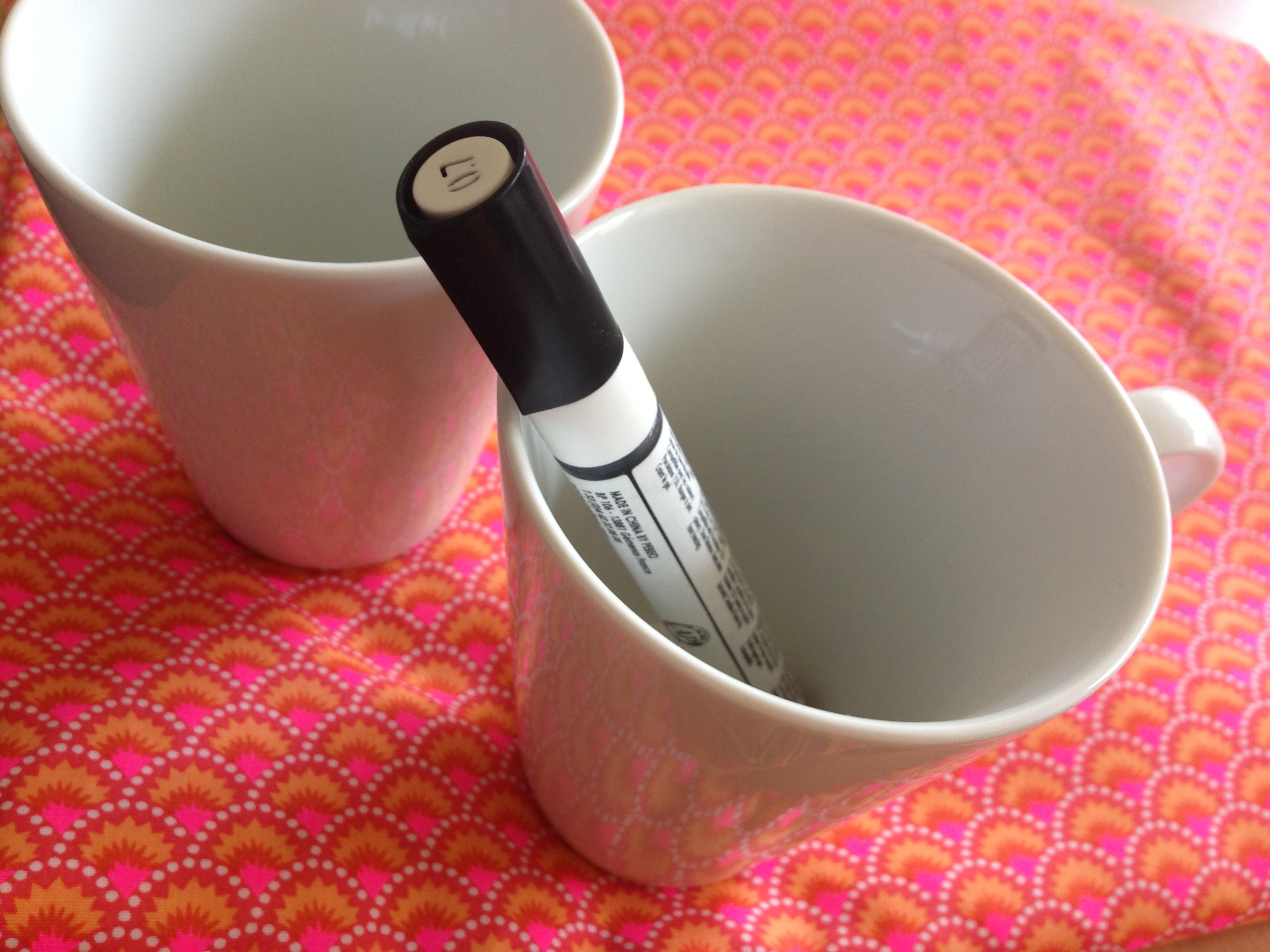 Célèbre Décoration de tasse – DIY #2   Copine(s) Mère & Femme FM34