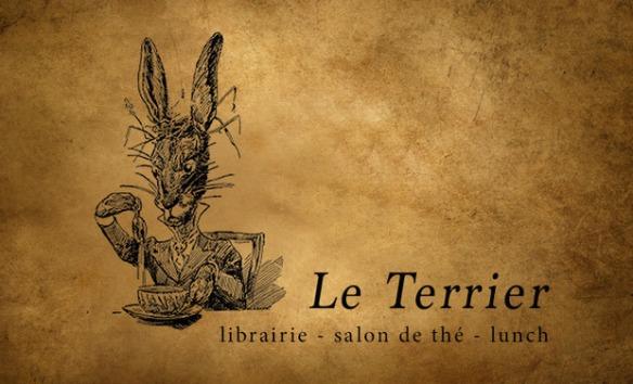 une librairie-salon de thé